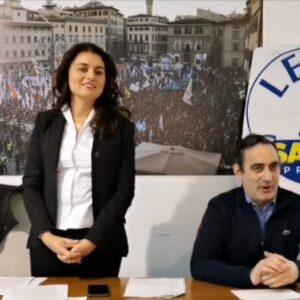Susanna Ceccardi candidata della Lega per le regionali in Toscana